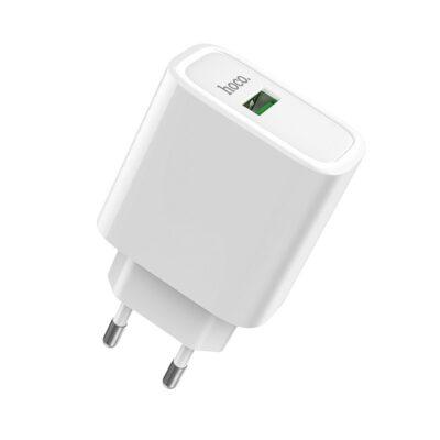 Hoco Wall charger C69A Dynamic power EU plug single USB QC3.0