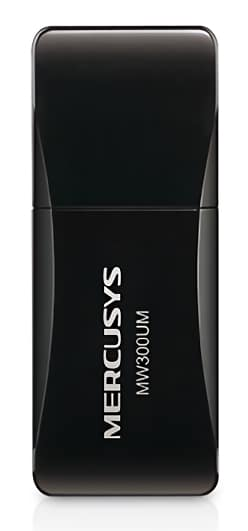 MERCUSYS Wireless Mini USB Adapter MW300UM, 300Mbps, Ver. 3