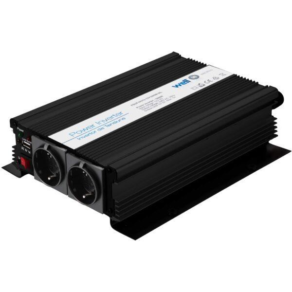 Well Power Inverter 1000W 12VDC TO 220VAC Τροποποιημένου Ημιτόνου