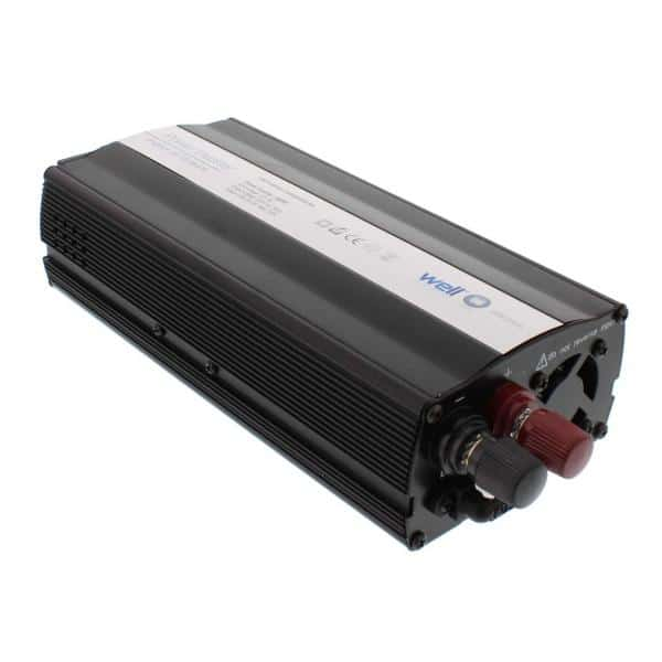 Well Power Inverter 600W 12VDC TO 220VAC Τροποποιημένου Ημιτόνου 1