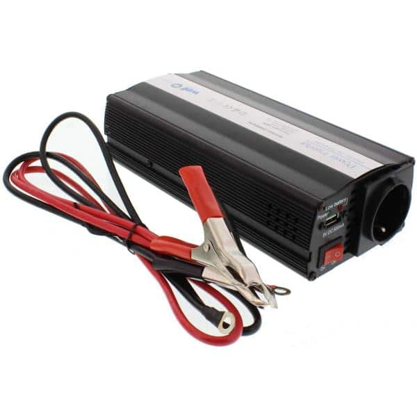 Well Power Inverter 600W 12VDC TO 220VAC Τροποποιημένου Ημιτόνου 2