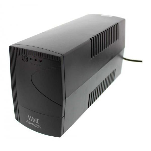 Well 850VA UPS Line Interactive Τροποποιημένου Ημιτόνου