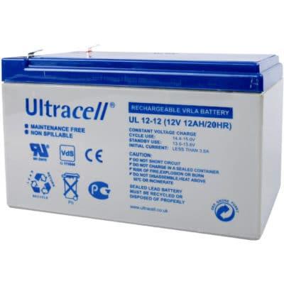 Ultracell 12V 12Ah Μπαταρία Μολύβδου UL 12-12