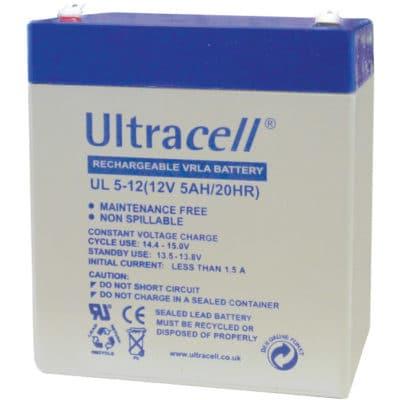 Ultracell 12V 5Ah Μπαταρία Μολύβδου UL 5-12