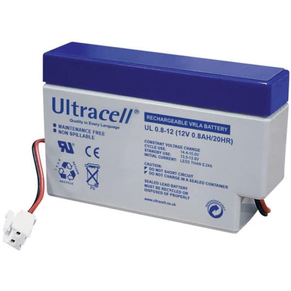 Ultracell 12V 0.8Ah Μπαταρία Μολύβδου UL 0.8-12
