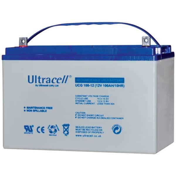 Ultracell Μπαταρία μολύβδου βαθιάς εκφόρτισης 12V 100Ah UCG 100-12