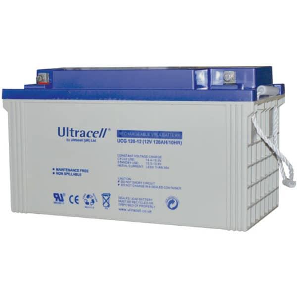 Ultracell 12V 120Ah Μπαταρία Μολύβδου UCG 120-12