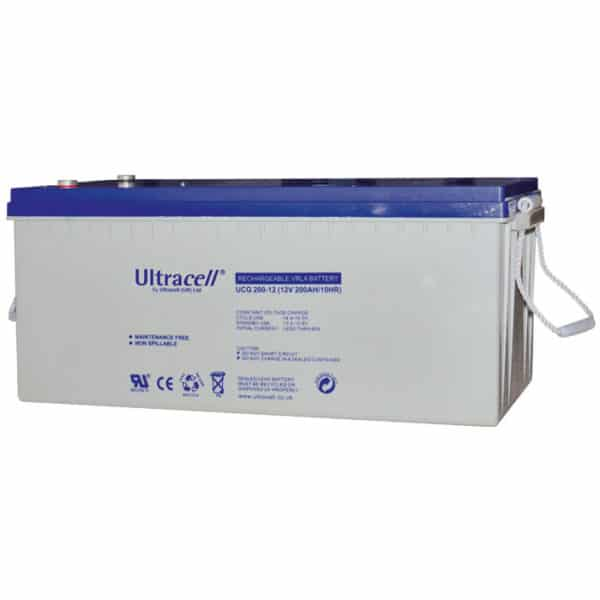 Ultracell Μπαταρία Μολύβδου Βαθιάς Εκφόρτισης 12V 200Ah UCG 200-12