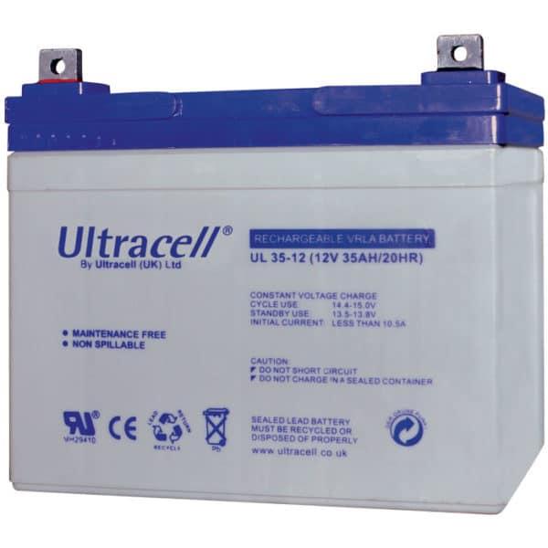 Ultracell 12V 35AH Μπαταρία Μολύβδου UL35-12