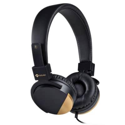 MELICONI 497456 SPEAK METAL Στερεοφωνικά ακουστικά με μικρόφωνο, μαύρα
