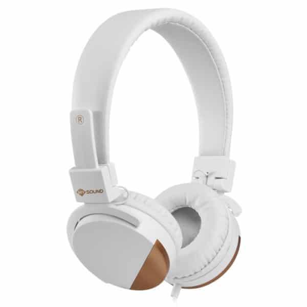MELICONI 497458 Speak Metal Στερεοφωνικά ακουστικά με μικρόφωνο, λευκά