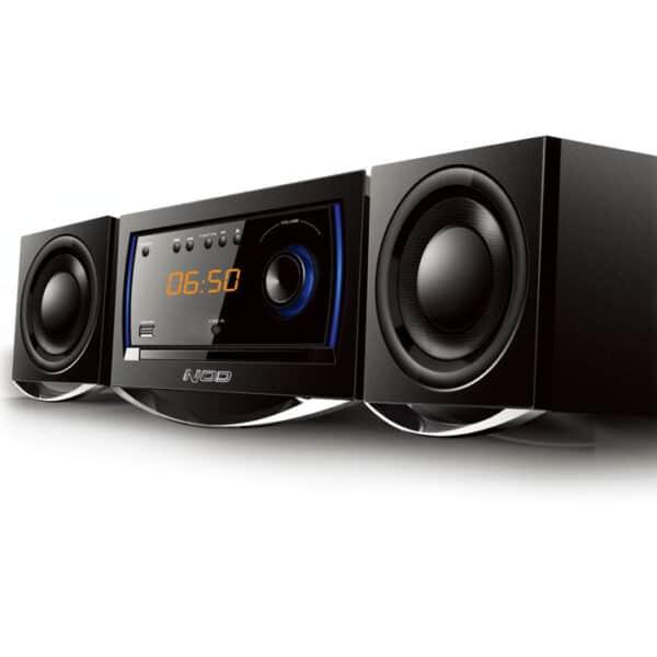 NOD BEAT Mini Hi-Fi με CD player, FM ράδιο, Bluetooth και USB stick, 30W