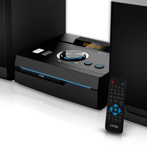 NOD STAGE Mini Hi-Fi με CD player, FM ράδιο, Bluetooth και USB 50W. 4