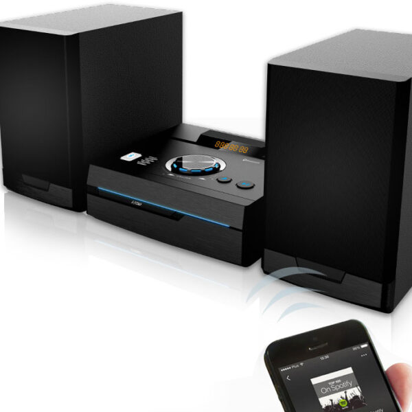 NOD STAGE Mini Hi-Fi με CD player, FM ράδιο, Bluetooth και USB 50W. 5