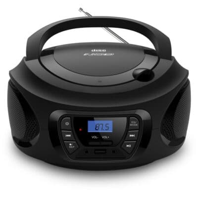 Φορητό ραδιόφωνο με CD / USB / MP3 / AUX και οθόνη LCD.