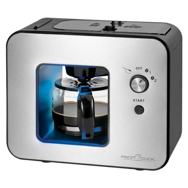 PROFI COOK Καφετιέρα φίλτρου με ενσωματωμένο μύλο άλεσης καφέ 500ml, 900W PC-KA 1152