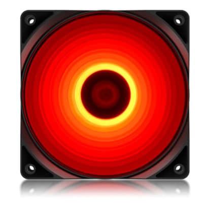 DEEPCOOL RF120R Ανεμιστήρας 120mm με 4 κόκκινα LED
