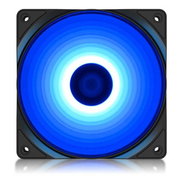 DEEPCOOL RF120B Ανεμιστήρας RF120 120mm με 4 μπλε LED
