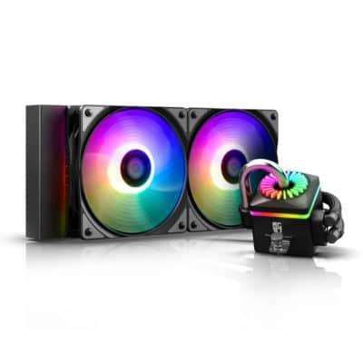 DEEPCOOL CAPTAIN 240 PRO V2 ADD RGB σύστημα υδρόψυξης για επεξεργαστές Intel και AMD