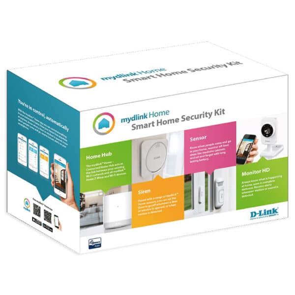 MYDLINK HOME DCH-107KT SECURITY STARTER KIT (Z-WAVE+WIFI) 6
