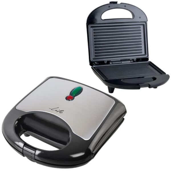 LIFE Toastie Τοστιέρα με grill πλάκες 700W