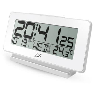 LIFE ACL-200 Ψηφιακό ρολόι & ξυπνητήρι με θερμόμετρο, ημερομηνία και οθόνη LCD