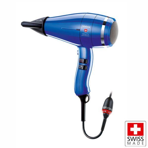 VALERA VANITY HI-POWER ROYAL BLUE Επαγγελματικό σεσουάρ μαλλιών με ΕΝDURO Brushless μοτέρ 2400W