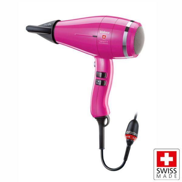 VALERA Vanity Comfort Hot Pink Επαγγελματικό σεσουάρ μαλλιών 2000W με Rotocord