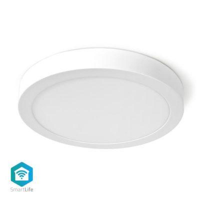 NEDIS WIFILAW20WT Wi-Fi έξυπνο φωτιστικό οροφής LED, διαμέτρου 30cm, 18W, 1200lm