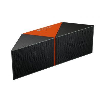 CANYON Wireless Speaker-Transformer 2x3W, Orange CNS-CBTSP4BO