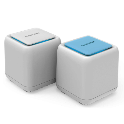 HALO Base AC1200 Dual-band Whole Home WiFi Mesh System with Touchlink 2pk (WL-WN535K2)