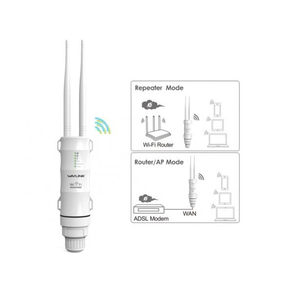 WAVLINK N300 High Power Outdoor Wireless AP/Range Extender/Router with PoE WL-WN570HN2 5