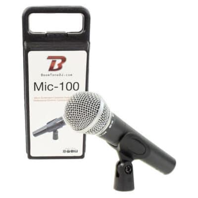 BOOMTONEDJ MIC100 Δυναμικό μικρόφωνο καρδιοειδούς διαγράμματος