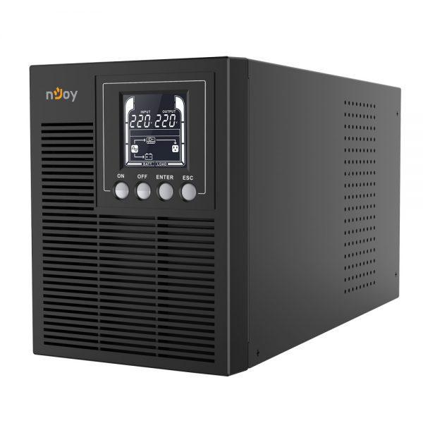nJoy Echo Pro 2000 UPS Online 1000VA/800W LCD with 2xGP07122L