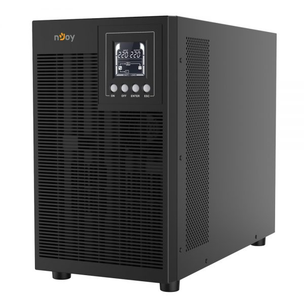 nJoy Echo Pro 3000 UPS Online 3000VA/2400W LCD with 6xGP07122L