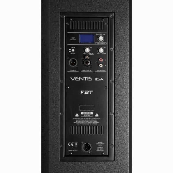 FBT VENTIS 115A Ενεργό Ηχείο 2-δρόμων , bi-amplified, σχεδιασμού bass reflex 900W 3