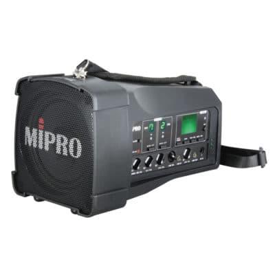 "MiPRO MA 100DB Φορητό ηχητικό σύστημα 50W 5"" full range, UHF 620-644MHz"