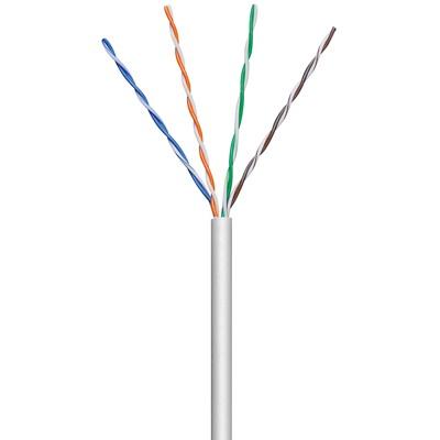 ANGA ST-L01 Καλώδιο UTP CAT5e σε Λευκό χρώμα (100μ) CCA/PVC