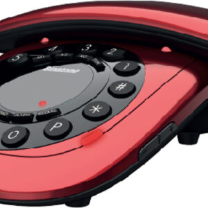 BINATONE C10 Επιτραπέζιο Τηλέφωνο Κόκκινο