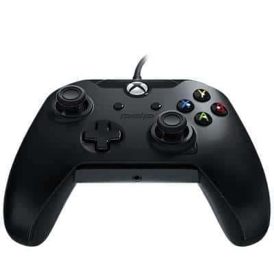 PDP Wired Controller for Xbox One & PC, Black