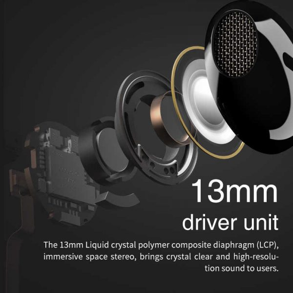 EDIFIER TWS200 True Wireless Stereo Earbuds Bluetooth v5.0 aptX, Black 3
