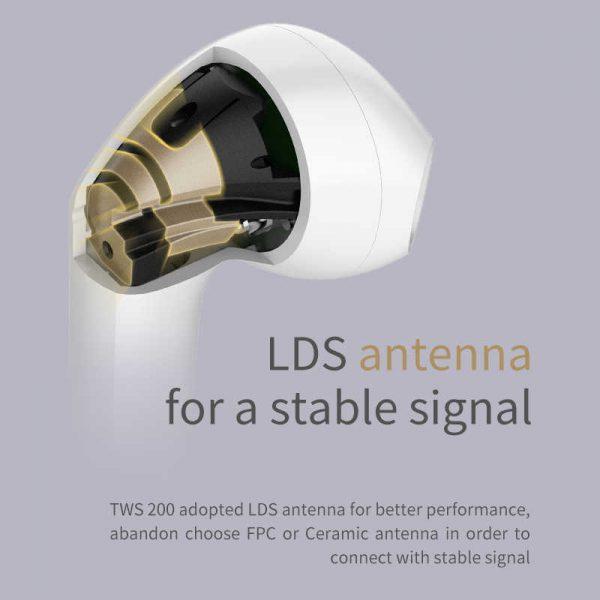 EDIFIER TWS200 True Wireless Stereo Earbuds Bluetooth v5.0 aptX, Black 6