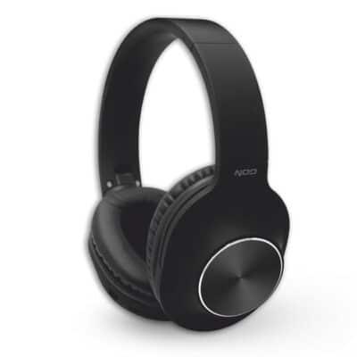 NOD Playlist Bluetooth Over-Ear Ασύρματα Ακουστικά με Μικρόφωνο Μαύρα