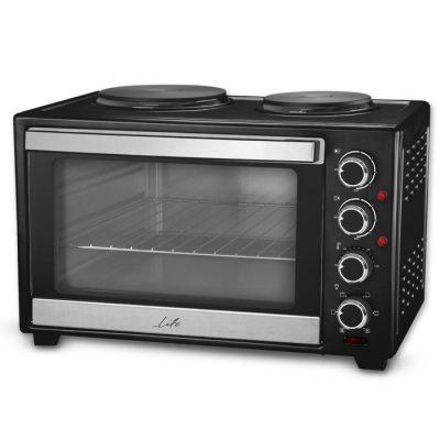 LIFE Kouzinaki 302 Ηλεκτρικό κουζινάκι 30L με 2 εστίες 3200W.