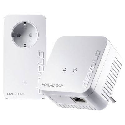 DEVOLO Magic 1 WiFi mini Starter Kit Powerline