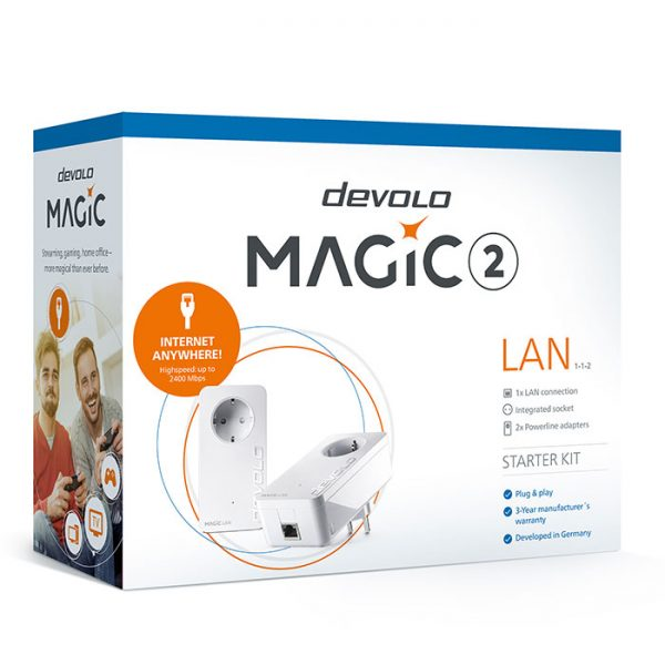 DEVOLO Magic 2 LAN Powerline 2