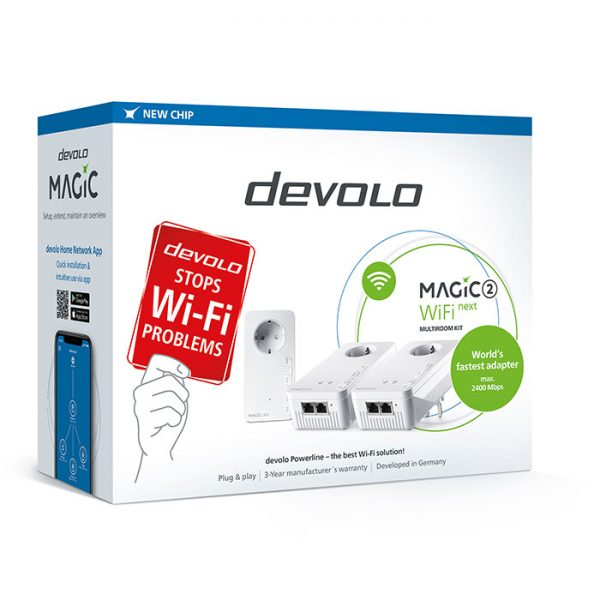 DEVOLO Magic 2 WiFi next Multiroom Kit Powerline