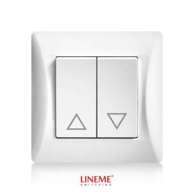 LINEME Μπουτόν ρολών H Series, Λευκό (50-00136-1)