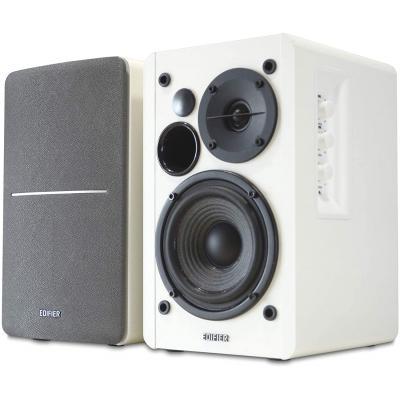 Edifier R1280DB Ξύλινα Ενεργά Ηχεία 42W με Bluetooth Λευκά-Ασημί