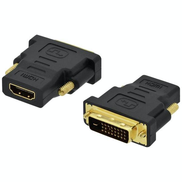 ANGA PS-A038 DVI αρσενικό (DVI24+1) σε HDMI θηλυκό